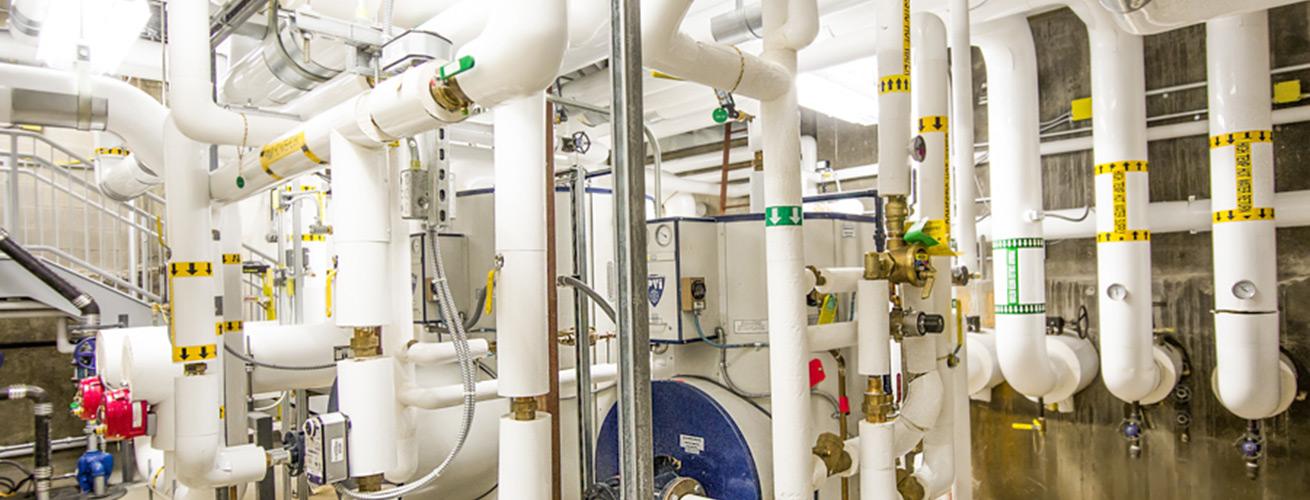 delta mechanical plumbing